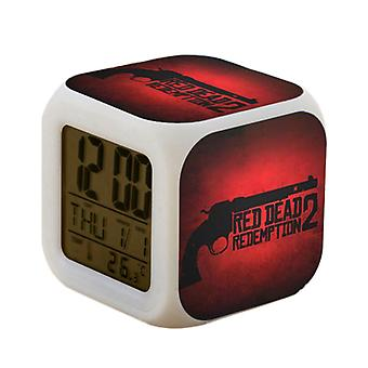 Red Dead Redemption II Digital Alarm Clock-No. 23