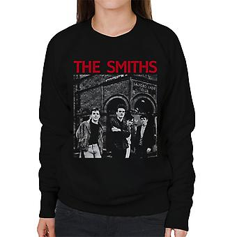 The Smiths Salford Lads Club Manchester Band Shot Women's Sweatshirt