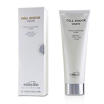 Swissline Cell Shock White Facial Cleansing Foam - 160ml/5.3oz