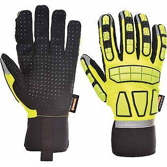 Portwest - Safety Impact Glove Lined One Pair Pack