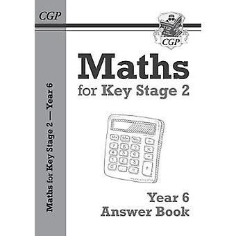 Nye KS2 matte svar for år 6 lærebok av CGP bøker - 978178294803
