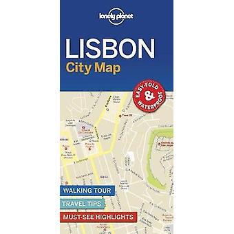 Lonely Planet-Lissabon Stadskarta av Lonely Planet Lissabon City karta - 9781