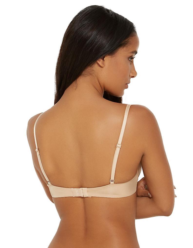 Gossard 11255 Women's Boost Nude Underwired Plunge Bra