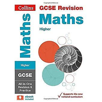 Nivel GCSE matemáticas: revisión de All-in-One y práctica (Collins GCSE revisión y práctica - nuevo plan de estudios de 2015)