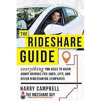 Rideshare-Guide: Alles Wissenswerte über das fahren für Uber, Lyft und andere Fahrgemeinschaft Unternehmen wissen