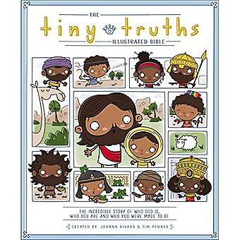 De geïllustreerde Bijbel van Tiny waarheden (kleine waarheden)
