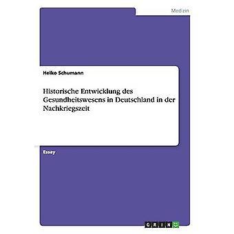 Historische Entwicklung des Gesundheitswesens in Deutschland in der Nachkriegszeit par Schumann & Heiko