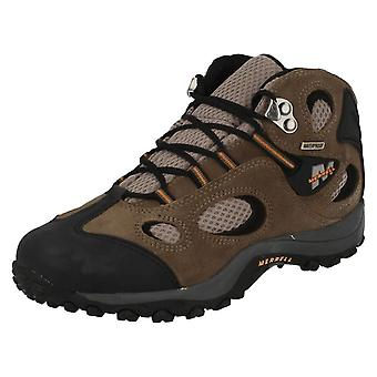 Boys Merrell Waterproof Ankle Boots Chameleon Mid