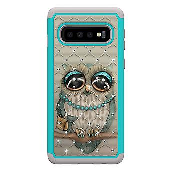 Samsung Galaxy S10 TPU-Skal Armor Extra Tåligt - Owl