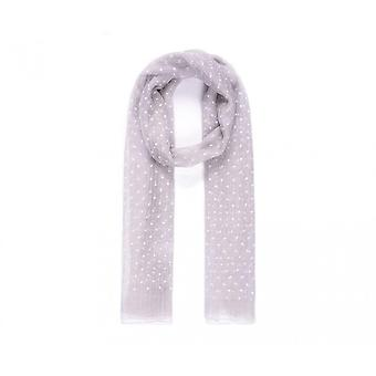 Intrigue Womens/Ladies Polka Dot Voile Scarf