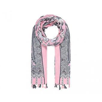 Intrige dames/dames bloemen Paisley afgedrukte sjaal