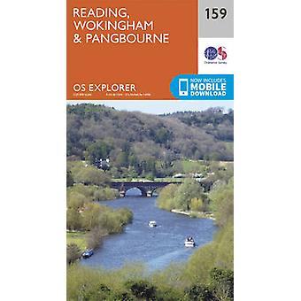Reading - Wokingham and Pangbourne (September 2015 ed) by Ordnance Su