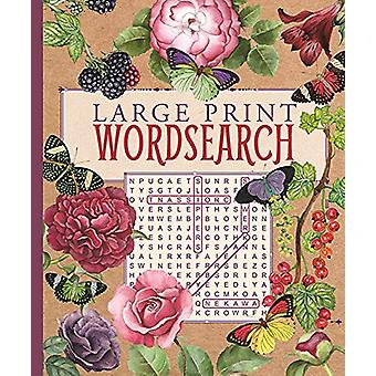 Large Print Wordsearch by Eric Saunders - 9781788284110 Book