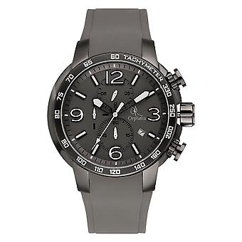 ORPHELIA Mens Analogue Watch East End Grey Silicone 132-6908-88