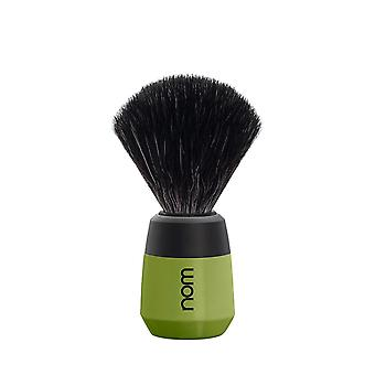 Nom Max Black Fibre Shaving Brush - Olive