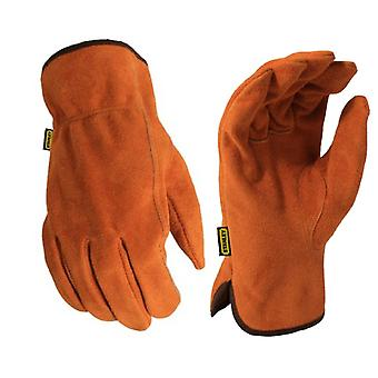 Stanley Unisex SY710L Split Leather Cowhide Glove Light Brown