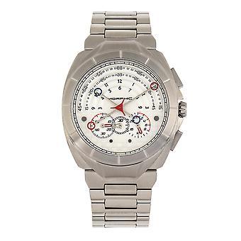 Morphic M79 Series Chronograph Bracelet Watch - Silver
