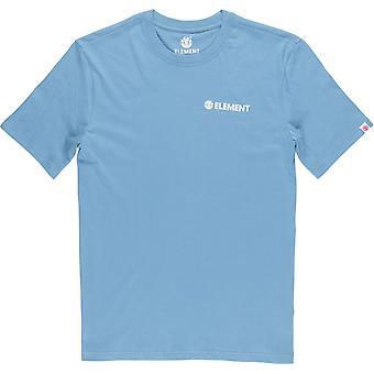 Element Men's T-Shirt ~ Blazin Chest niagara
