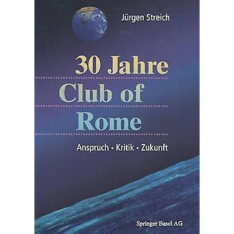 30 Jahre Club Rooman Anspruch. Kritik. Zukunft by Streich & Ja14rgen
