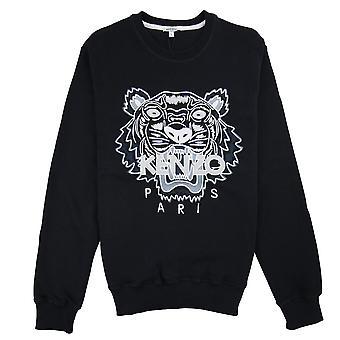 Kenzo Tiger mono Chrome Sweatshirt zwart