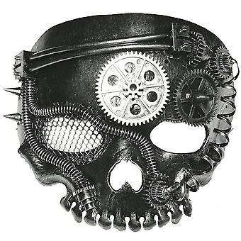 Steampunk craniu ziua de știință Dead fiction Mens costum ochi masca