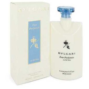 Bvlgari Eau Parfumee Au The Bleu by Bvlgari Body Lotion 6.8 Oz (نساء) V728-546786