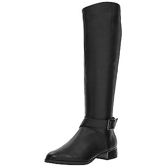 Kenneth Cole New York Women ' s Branden equitação boot com fivela Equestrian