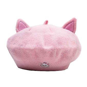 アリストキャッツベレー帽マリーイヤーズロゴ新しい公式ディズニーピンク