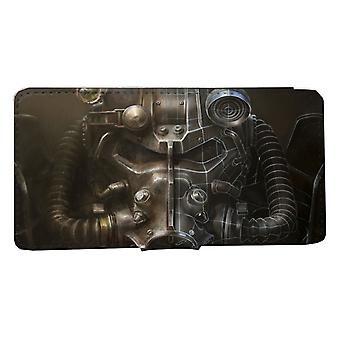 Samsung S9 Wallet Case: Fallout shell geval