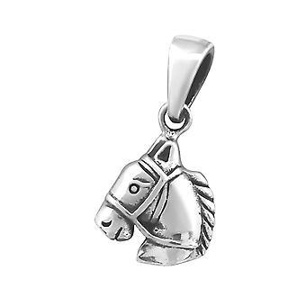 Paard - 925 Sterling Zilver Plain Hangers - W30339x