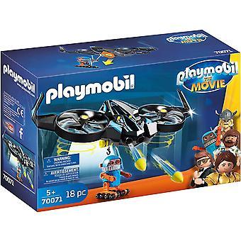 Playmobil filmen Robotitron med Drone Toy