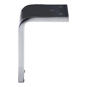 Chrome Solid Angle Profile leg 10 cm