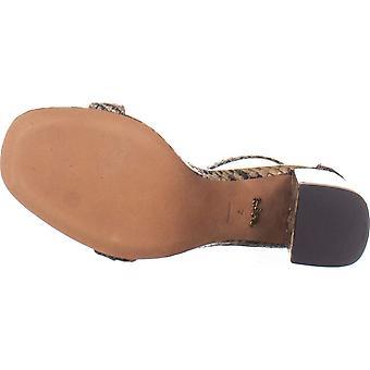 Coach dame Maya 85 læder slange print hæl sandaler
