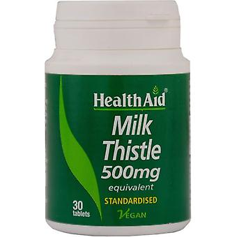 Health Aid Milk Thistle Herb and Seed 30comp.