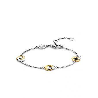 Ti Sento 2925SY Armband - Silber und Beifarbe Ringe s zweifarbige Frauen