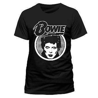David Bowie Diamond Dogs Logo Glam Rock T-Shirt officiel