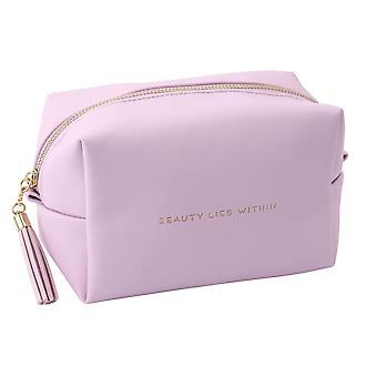 CGB Giftware W&R Lavender Beauty Lies Within Wash Bag