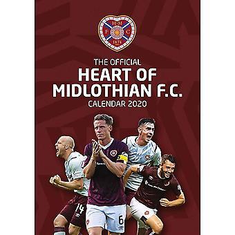 Hart van Midlothian FC 2020 Kalender