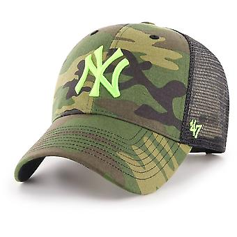 47 fire Trucker Cap - BRANSON NY Yankees wood camo