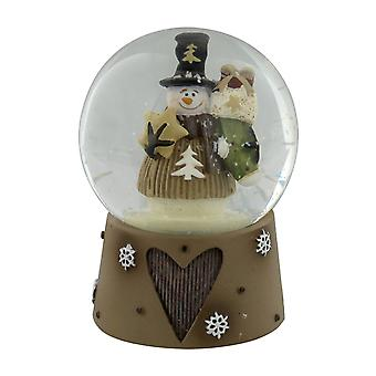 Widdop Gifts Snowman Snow Globe