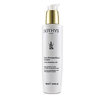 Sothys vitalidade leite de limpeza-para a pele normal a combinação, com extrato de toranja 200ml/6.76 Oz