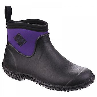 Muck Boots Black & Purple Muckster Ii Ankle All Purpose Lightweight Shoe Boots