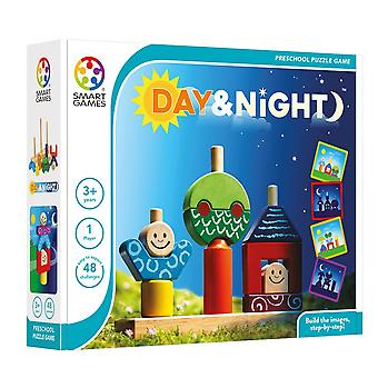 SmartGames Day and Night Preschool Stacking Toy and Puzzle One Player Ages 3-6