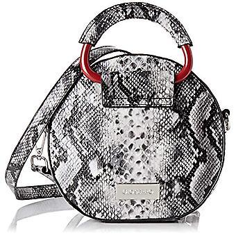 SELAWIK - White Woman Handbag (Blanco/Neg) 2x6.5x20 cm (W x H L)