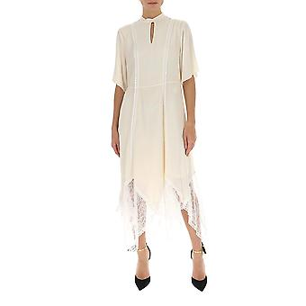 See By Chloé Chs20sro13014119 Women's White Viscose Dress