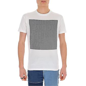 Dsquared2 S74gd0646s22427100 Mænd's White Cotton T-shirt