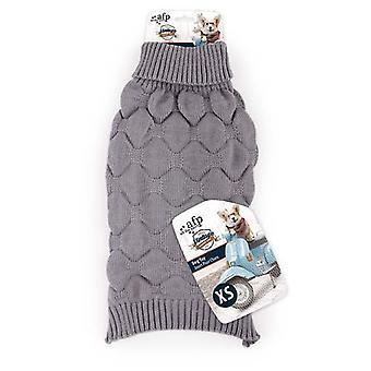 AFP ジャージ ビンテージ ディアマンテ Xs (犬、犬の服、セーター、パーカー)