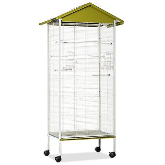 Voltrega 440 Pistachio Grey Aviary 78X47,5X155Cm (Birds , Cages and aviaries , Aviary)