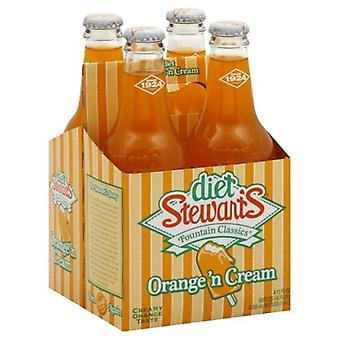 Stewarts Diet Orange Cream Soda-( 355 Ml X 12 Cans )