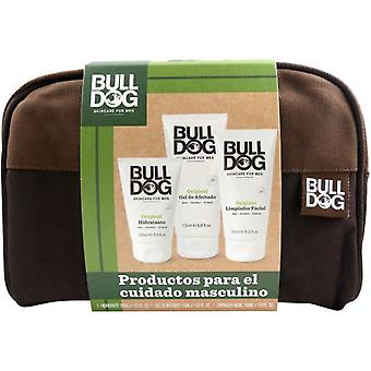 Bulldog Kit for Men Facial + Gel + Moisturizer + Bag
